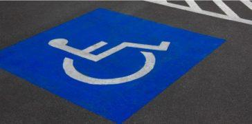 ada parking lot markings