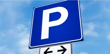 image of Parking Lot Sign Installation
