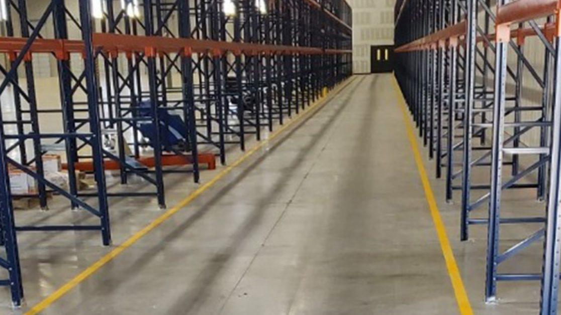 Texas Warehouse Floor Markings Project image