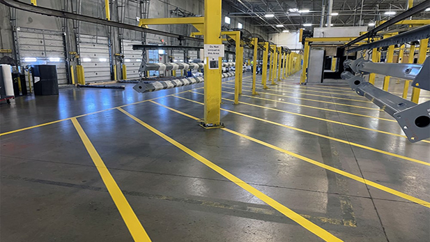 Play Power Re-striping and Warehouse Marking Project image