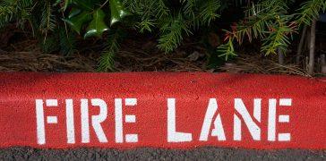 image of Fire Lane Striping