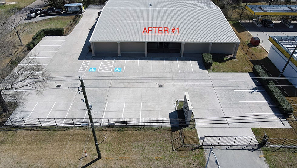 NorthShore Medical Supplies Restriping Project image