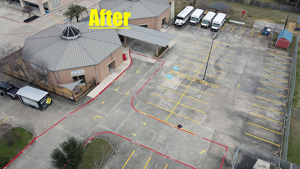 Daycare Restriping Project image