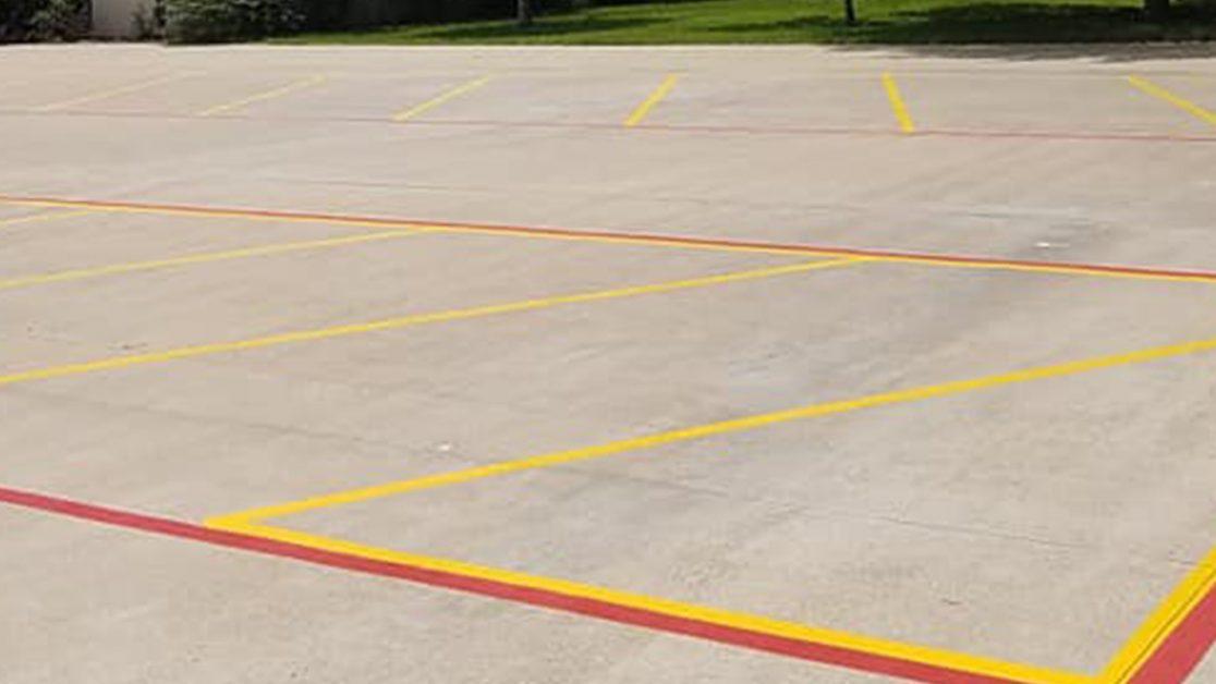 Houston-Area Fire Lane Markings Project image