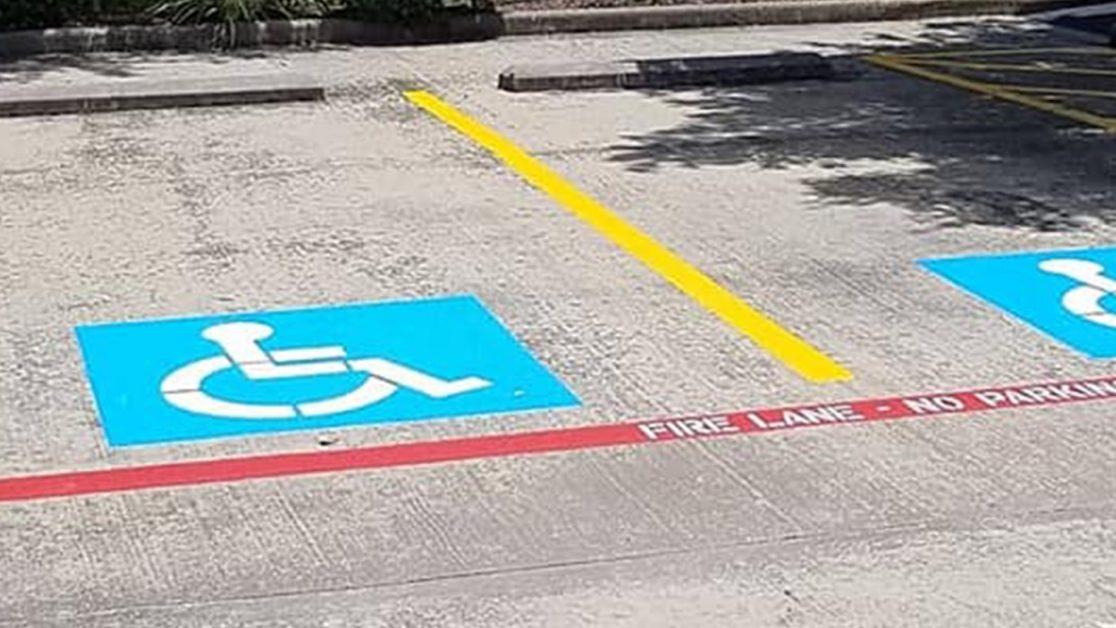 Houston – Area Re-Stripe Project image