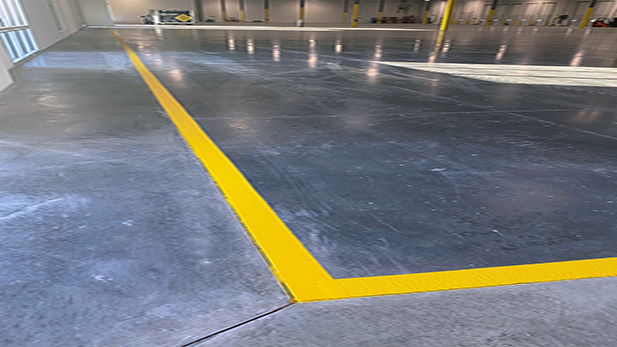 Green World Shipping Re-striping Project image