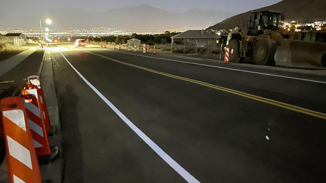 Herriman, Utah Road Striping Project image