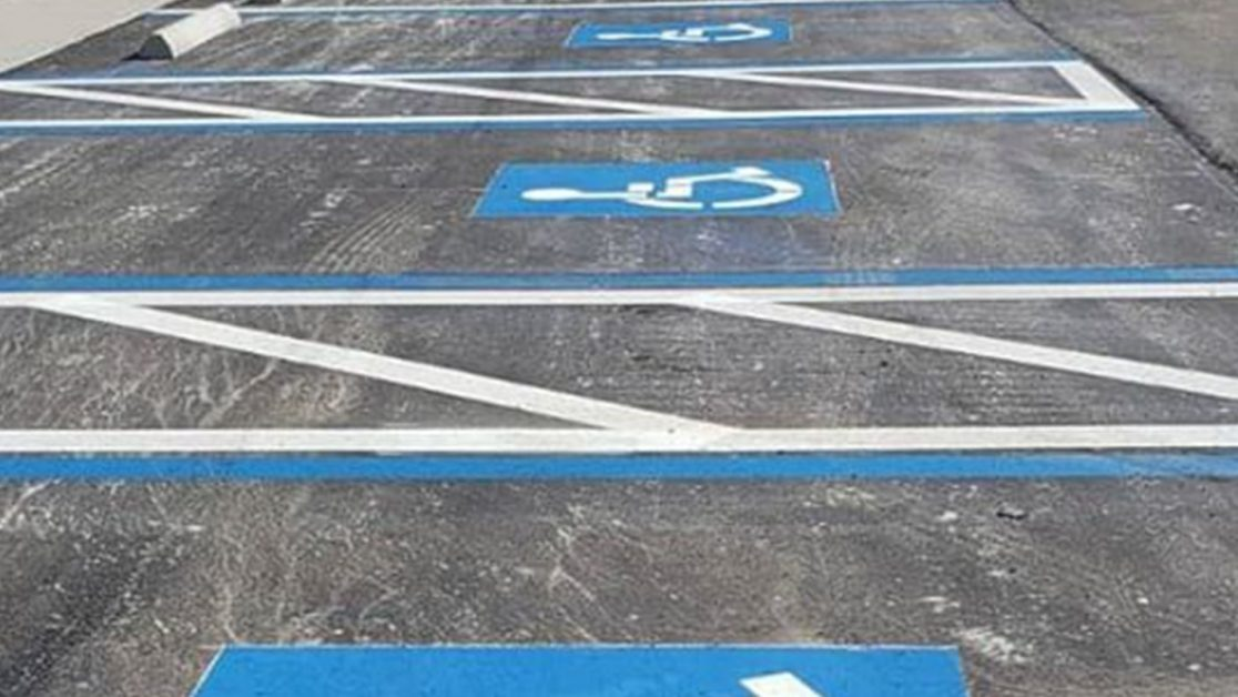 ADA Parking Lot Compliance Project in Hillsborough County image