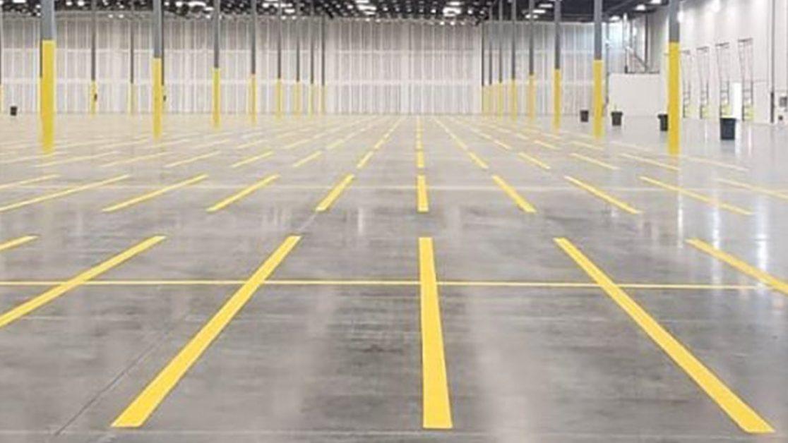 Warehouse Floor Markings in Hillsborough County image