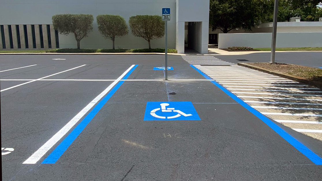 Tampa Covenant Church Line Striping Project image