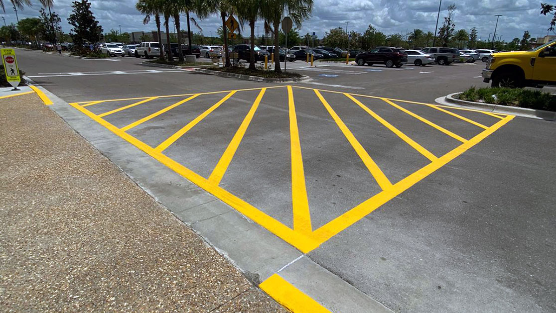Total Wine and More Line Striping Project image
