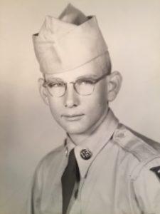 Paul woods military portrait