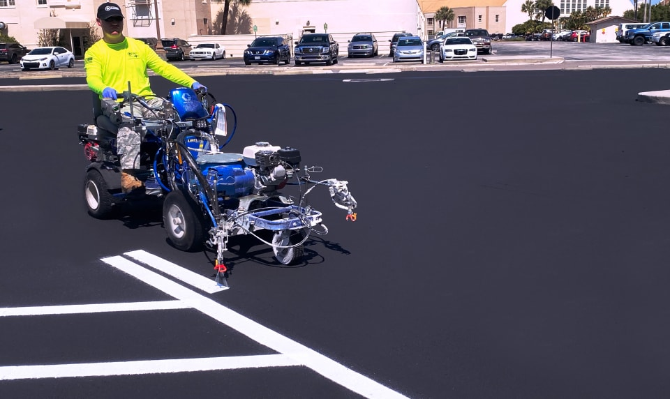 Image of Line Striping & Parking Lot Markings in South Carolina