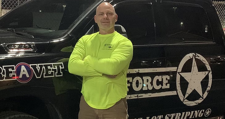 rodney r schook with g-force truck